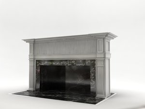 place fireplace 3d model