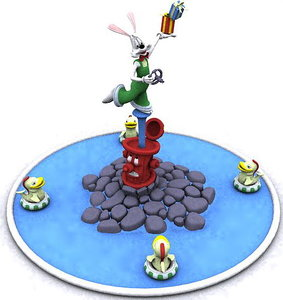 maya conduit fountain