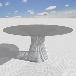 3ds max platner table