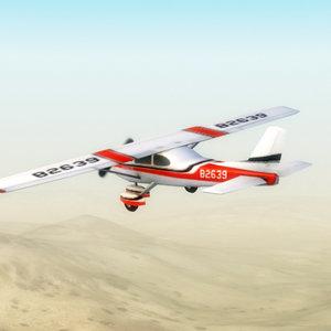 3d light aircraft