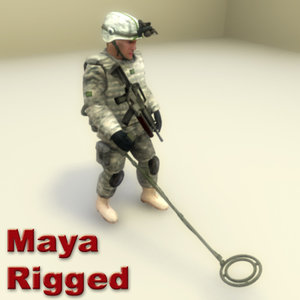 usarmy combat ged 3d ma