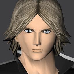 character kole 3d model