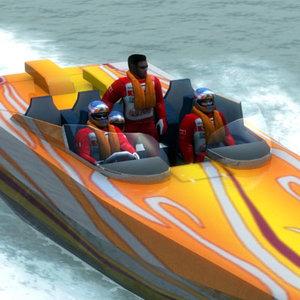 speedboat pilot lwo