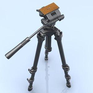 3d camcorder tripod slik