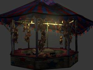 3d max fish circus