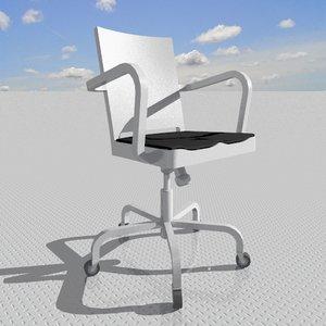 hudson armchair 3d model