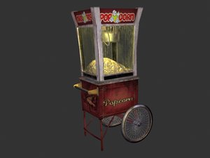 maya popcorn cart