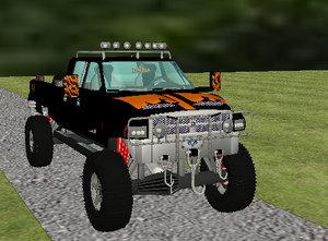 3ds max dodge ram 2500 pickup truck