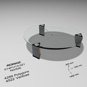 max table - trash