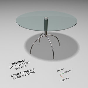3ds max dining table - trash