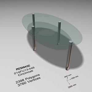 3dsmax table - trash