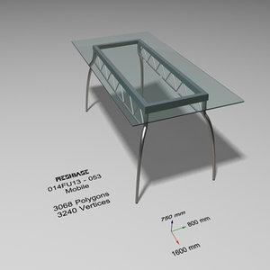 maya designer dining table glass