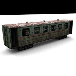 old wagon 3d max
