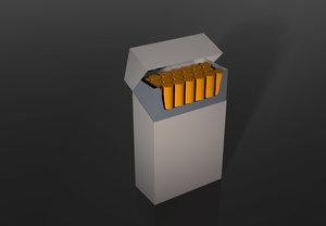 3ds cigarretes box