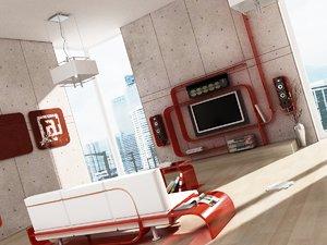 3d max room