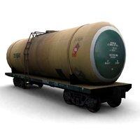 3d railroad cistern model