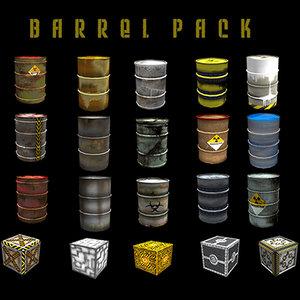 maya barrel box