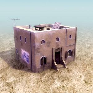 iraqi house interior obj