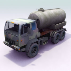 fuel supply military 3d 3ds