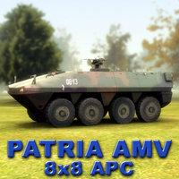 3d patria amv