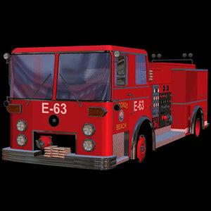3d commercial truck pztrk pmp