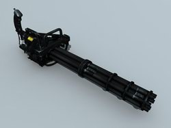 3d m134 gatling minigun