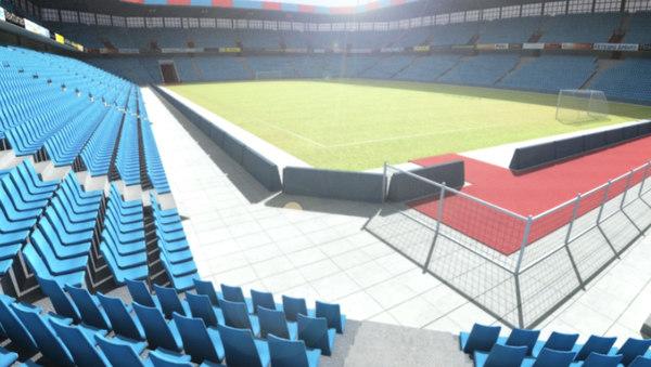st jacob park stadium 3d model