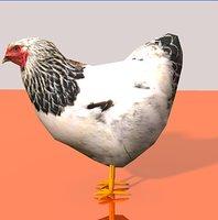 3d chicken sketchup