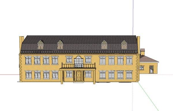 home building housing 3d model