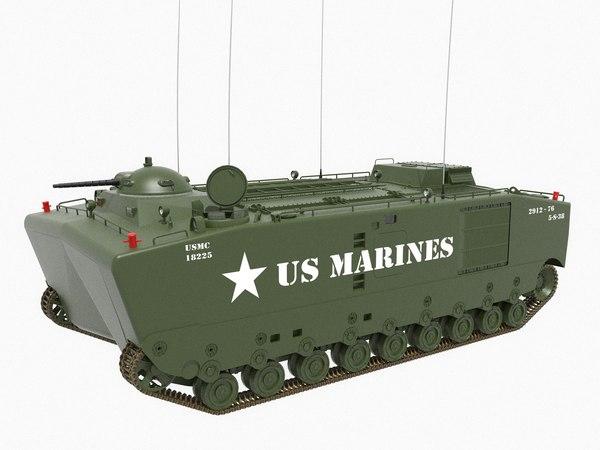 3D vehicle lvtp-5 model