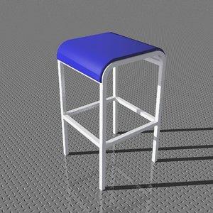 3d counterstool designed foster model