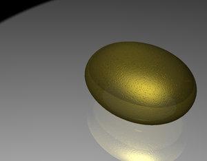 golden eggs 3d max