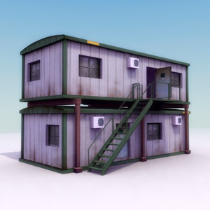 3ds portacabin buildings