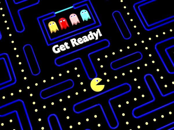 max pac-man games board