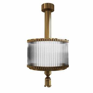lighting bronze brass 3D model