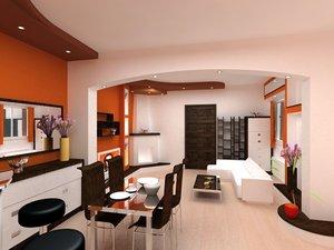 3d design apartment