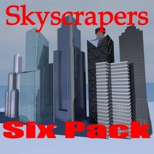 3d model buildings skyscraper