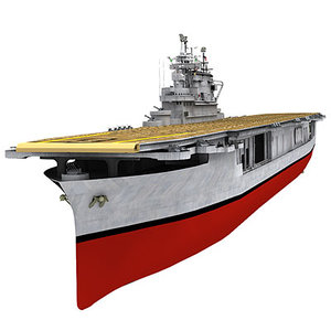 3d uss enterprise model
