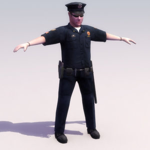 3d policeman games