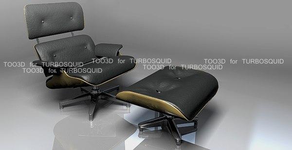 directx eames lounge chair ottoman