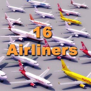 3d commercial aircraft