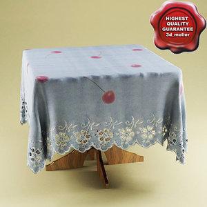 maya table table-cloth v1