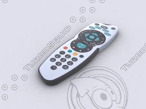 3d model sky remote control