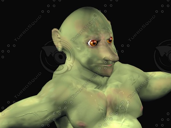 3d goblin troll