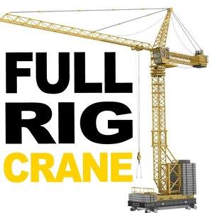 maya rigged tower crane 2