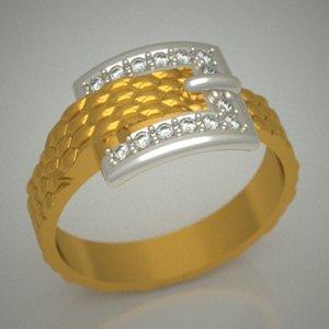 3d diamonds jewellery