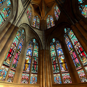 gothic cathedral poly! 3d lwo