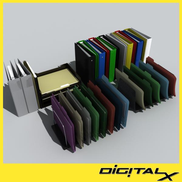 3d files folders