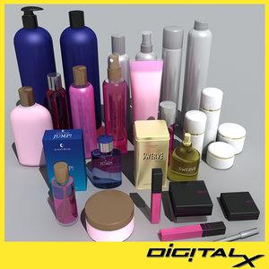 3d model cosmetic