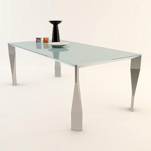 diamond table 3d 3ds